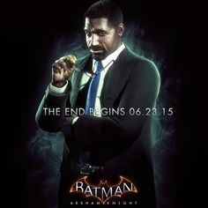 After being played so excellently by Morgan Freeman in Christopher Nolan's Dark Knight Trilogy, Lucius Fox makes his debut in the Arkhamverse with next week's Batman: Arkham Knight. Hit the jump to see Lucius' character image in full. Batman Arkham Series, Batman Arkham Knight, Batman The Dark Knight, Lucius Fox, Batman Poster, Cinema, Deadshot, Arkham City, Riddler
