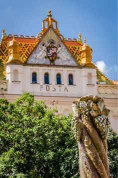 Pécs, Post Office with Zsolnay tiles Beautiful Places To Travel, I Want To Travel, Budapest Travel, Hungary Travel, Heart Of Europe, Danube River, Austro Hungarian, Central Europe, My Heritage