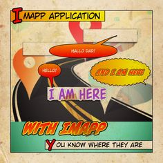 iMapp - find my friends regardless of the installed app, track mobile devices