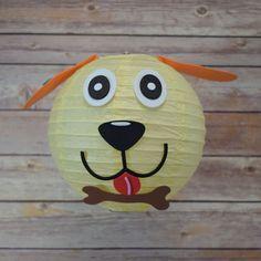 """8"""" Paper Lantern Animal Face DIY Kit - Dog (Kid Craft Project)"""