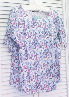 Papermoon Faraday Tie Sleeve Top Stitch Fix Review May 2017 #stitchfix #somuchtoenjoy #springstyle