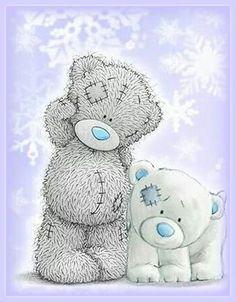 Tatty Teddy Bear & Blue Nose Friends