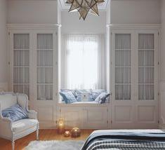 Built In Bed, Built Ins, Room Closet, Room Inspiration, Living Room Designs, Mudroom, Master Suite, House, Furniture
