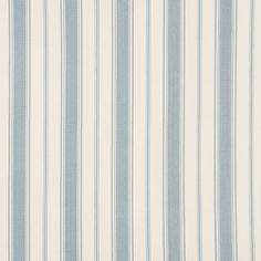 Alessandra Branca for Schumacher Branca Stripe Sky (New Color)