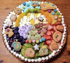 """A truly """"epic"""" tart — this fabulous edible tribute to Kirby is almost too cute to eat!"""