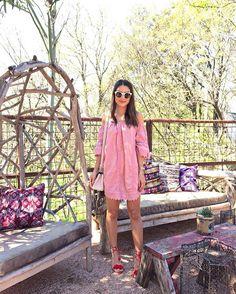 """Girly vibes in @tularosalabel dress from @revolve  #revolvefestival ------- Look de hoje com vestido lindo by @tularosalabel da @revolve  (Adoro esse…"""