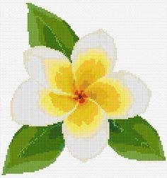 Plumeria Cross Stitching, Cross Stitch Embroidery, Religious Cross Stitch Patterns, Cross Stitch Calculator, Monogram Cross Stitch, Beaded Cross, Cross Stitch Flowers, Cross Stitch Designs, Pixel Art