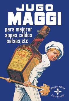 Jugo maggi 12x18 giclee on canvas