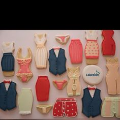 Lakeside Clothes Cookies