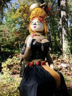 garden scarecrow | Scarecrow-Atlanta Botanical Garden | scarecrows without Brains