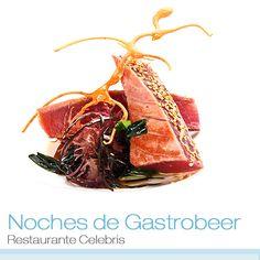 Ya no hace tanto calor pero todavía podemos disfrutar de las noches veraniegas de #Zaragoza. Recuerda, te esperamos en la cita gastronómica de hoy en el #RestauranteCelebris: Gastrobeer.