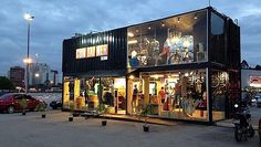 Container na Arquitetura | DEZEM Arquitetura e Visual Merchandising | Ribeirão Preto