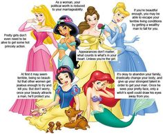 Things I Learned From Disney Movies Why Do We Let Little Girls