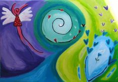 Wendie.nl: schilderijen: blije en positieve schilderijen