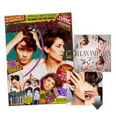 Heartthrob magazine! Available with the #Heartthrob pre-order at http://teganandsara.warnerbrosrecords.com/