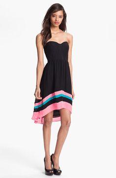 Parker Silk Fit & Flare Dress