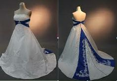 Real Image Long Satin Wedding Dresses Middle East Style A Line Strapless Lace… Wholesale Wedding Dresses, Wedding Dresses 2014, Wedding Dress Shopping, Colored Wedding Dresses, Wedding Gowns, Vail Wedding, Royal Blue Dresses, Blue Gown, Bridal Gowns