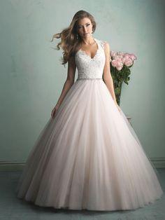Trouwjurken | Trouwjurk van het merk Allure model 9162 - Weddings Bruidsmode