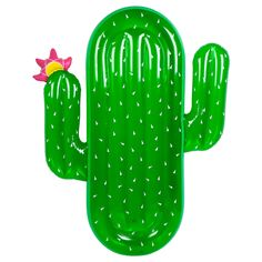 """We don't mind if you're a little prickly before you climb atop the Cactus float to lay back and soak up those rays. - 0.25mm PVC - Includes repair patch - in case of punctures Height 68.5"""" [custom_htm"""