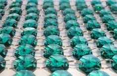 Welcome to the SeearLights Etsy store.  We are based in Dorset, England:       Model: 100 Royal Teal 14mm Drops    Description:    PLEASE NOTE: WHOLESALE DISCOUNTS AVAILABLE FOR BULK ORDERS - Feel free to message me with your requirements.    This lot comprises of 100 new chandelier droplets in a beautiful 'Royal Teal' colour. This colour sits in the blue / green colour spectrum - and I'd advise they are more of a green colour than blue! These pieces are all identical sized 14 mm octagonal…