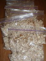 Homemade Oatmeal Bags for pennies!!