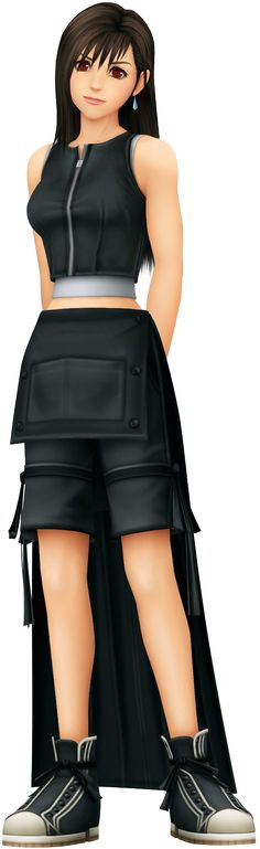 Tifa's outfit from Advent Children is amazing and suits her personality much better than her original costume