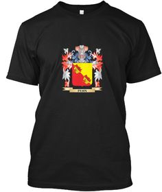 Fern Coat Of Arms   Family Crest Black T-Shirt Front - This is the perfect gift for someone who loves Fern. Thank you for visiting my page (Related terms: Fern,Fern coat of arms,Coat or Arms,Family Crest,Tartan,Fern surname,Heraldry,Family Reunion,Fern fa ...)
