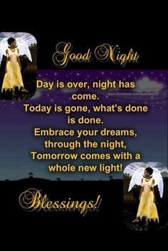 Goodnight Blessings!