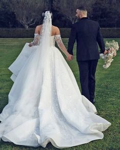 Top 30 Hottest Wedding Dresses: Guide To Every Silhouette ❤ hottest wedding dresses off the shoulder with long sleeves ball gowns leahdagloria #weddingforward #wedding #bride #weddingoutfit #bridaloutfit #weddinggown