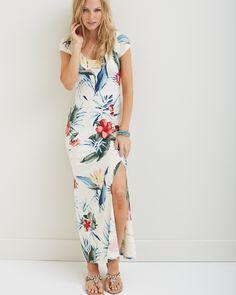 Tommy Bahama - Happy Hibiscus Maxi Dress