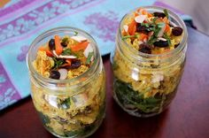 2. Chicken Curry Salad With Greens