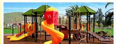 Playground Rubber Mulch, Outdoor Play Areas, That Way, Things To Come, Landscape, Trends, Beautiful, Space, Create