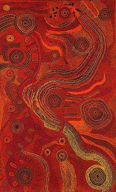 Tjungkara Ken - 'Seven Sisters' | Aboriginal Art | Outstation: