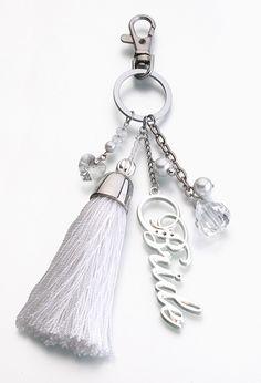 Bride Key Fob. Ooh this is so cute.