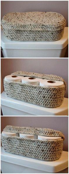 One Skein Crochet, Crochet Wool, Crochet Dishcloths, Crotchet, Easy Crochet, Diy Crochet Basket, Crochet Basket Pattern, Crochet Gifts, Crochet Patterns