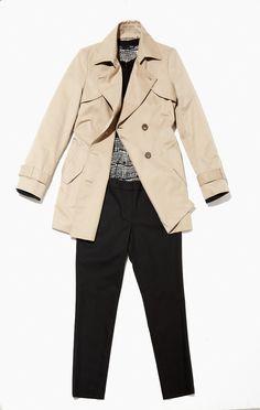 Basic trench coat mix & match style/ 유행을 타지 않는 베이직 트렌치 코트를 활용한 모던 코디