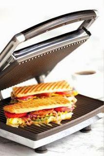 Panini Sandwich tosti ijzer