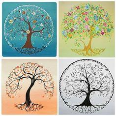 arbre de vie couleur