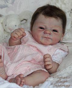 Tamara Leigh Reborns Tamara Auty coco Malu Elisa Marx Reborn Baby Girl Doll Fake Baby