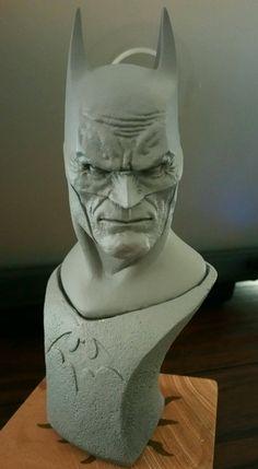 Bat-sculpt #Batman #sculpture artist unknown, please advise