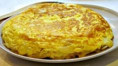 Spanish tortilla with potatoes