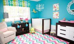 Baby Boy and Girl Nursery Ideas