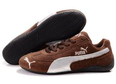 detailed pictures 7303f 5ba39 Puma Men and Women Fast Cat Suede Shoes Shoes Brown, Brown Sneakers, Puma  Sneakers