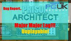 Prison Architect: Bug Report - Major Lag - Unplayable On Large Maps! Prison, Bugs, Channel, Map, Location Map, Beetle, Peta, Maps