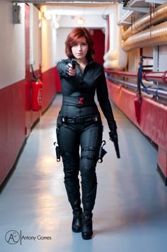 Otaku House Cosplay Idol 2012 » Ayuko: Black Widow (Natasha Romanoff) from The Avengers