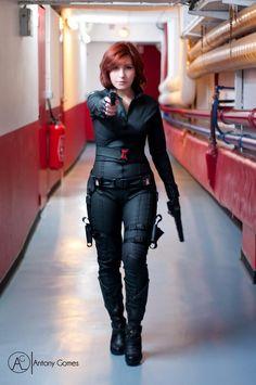 Otaku House Cosplay Idol 2012 » Ayuko: Black Widow (Natasha Romanoff) from The Avengers