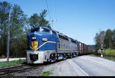 RailPictures.Net Photo: DH 1216 Delaware & Hudson Baldwin RF-16 at Whitehall, New York by Don Oltmann