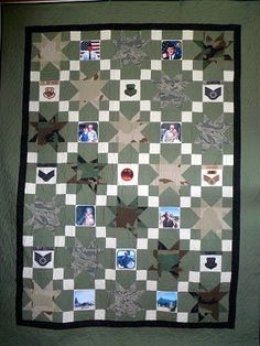 1000+ images about Military quilt ideas on Pinterest Military, Patriotic quilts and Quilt kits