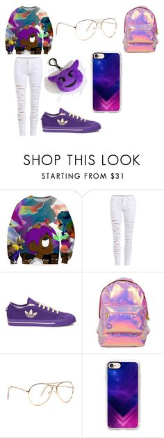 """Lil Uzi Vert"" by myliahnmcroy ❤ liked on Polyvore featuring UZI, adidas, Miss Selfridge and Casetify"