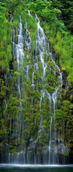 Mossbrae Falls, Dunsmuir, California, Mt. Shasta area